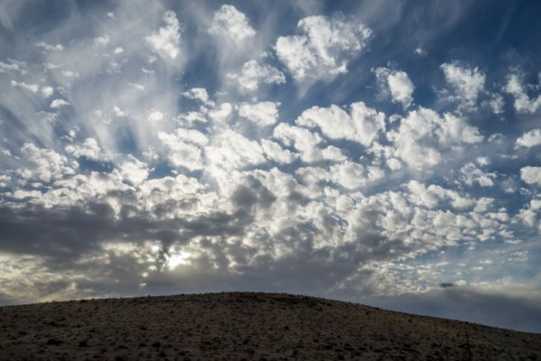 20150243DC Otero Mesa Clouds No.2, NM 2015