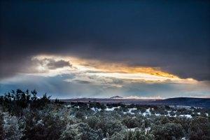 20160038DC Winter Sunset, NM 2016