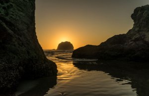 20160942DC Face Rock, Sunset, OR 2016