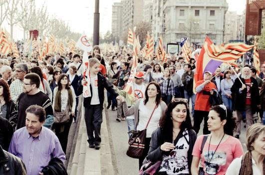 Ignorant, feliçment, la realitat (Lleida - 29/03/12)