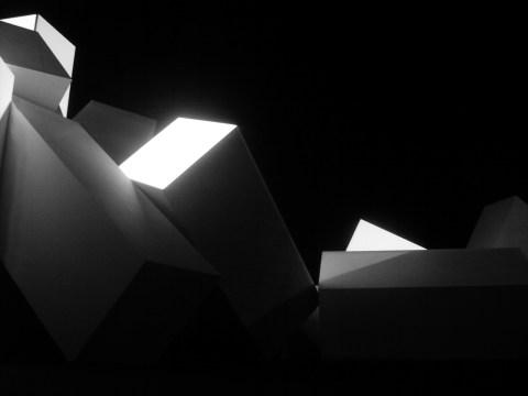 Light sculpture 2