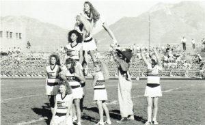 Joani on top of Pyramid