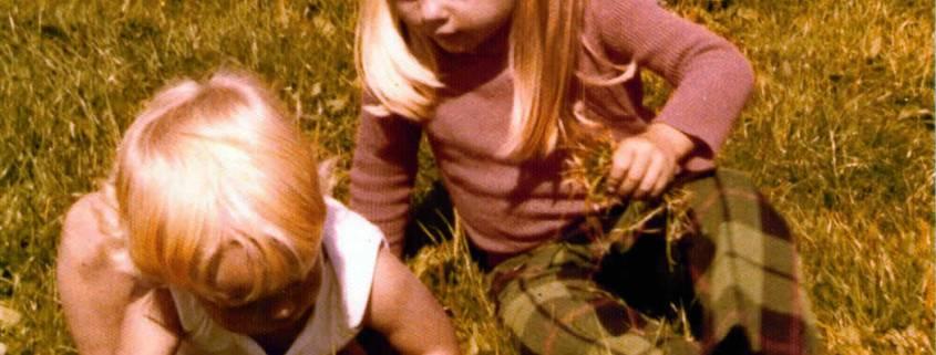 Peter en Annemieke, de kinderen van Joanika