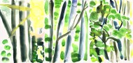 October Woods tryptych