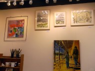 January 2014 - Bono Art Gallery - paintings by Roberton Bono, Jo Dunn, David Veron