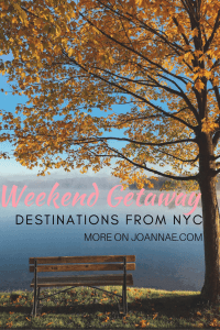 Fall Weekend Destinations From NYC