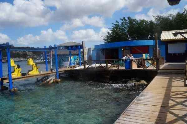 Aquafari Curacao Scooter Setup
