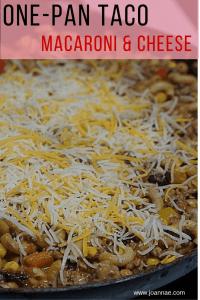One-Pan Taco Mac and Cheese