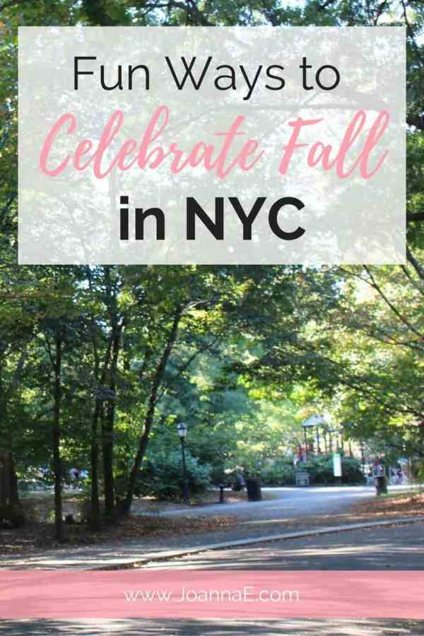 Fun Ways to Celebrate Fall in NYC