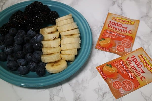 Banana Berry Breakfast Smoothie