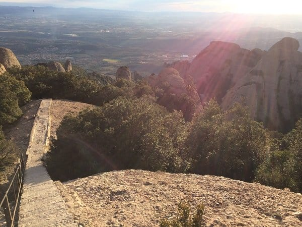 Sant Jeroni high steps