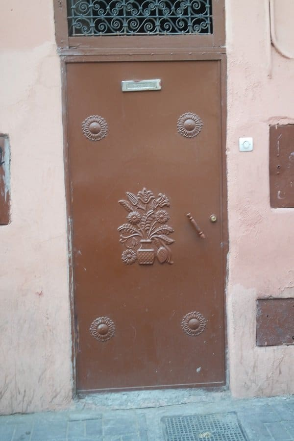 Doors in Morocco Marrakech