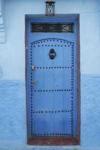 Doors in Morocco Chefchaouen 2