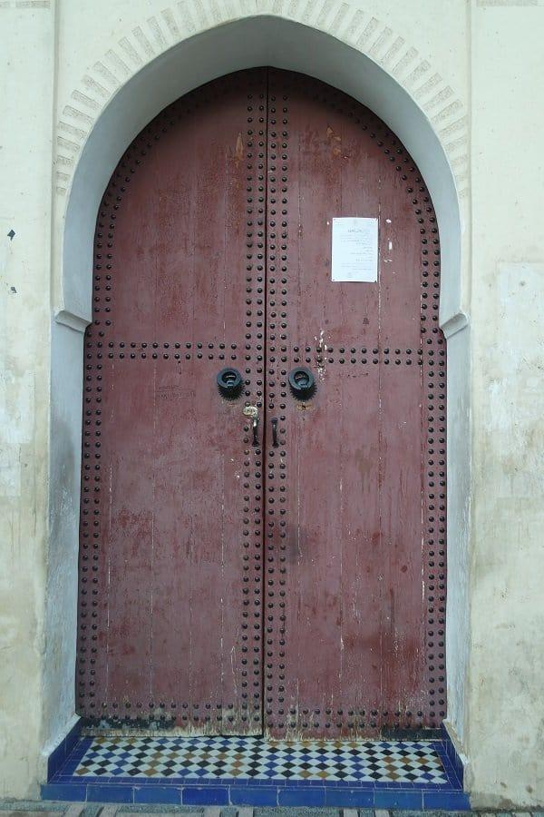 Doors in Morocco Fes 1