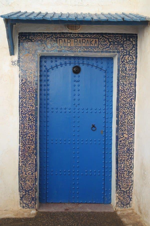 Doors in Morocco - Rabat 4