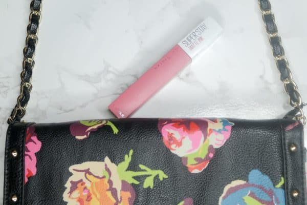 Maybelline Lippie with Bag