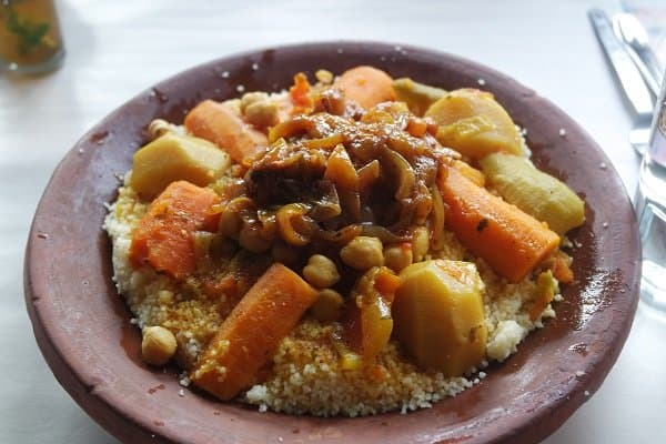 Moroccan food and drinks Moroccan Couscous