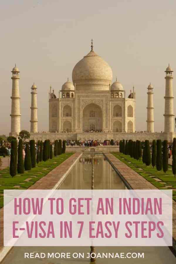 How to Apply for an Indian e-Visa in 7 Easy Steps