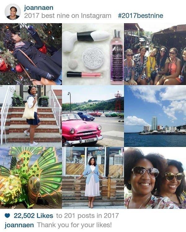 best 9 on instagram