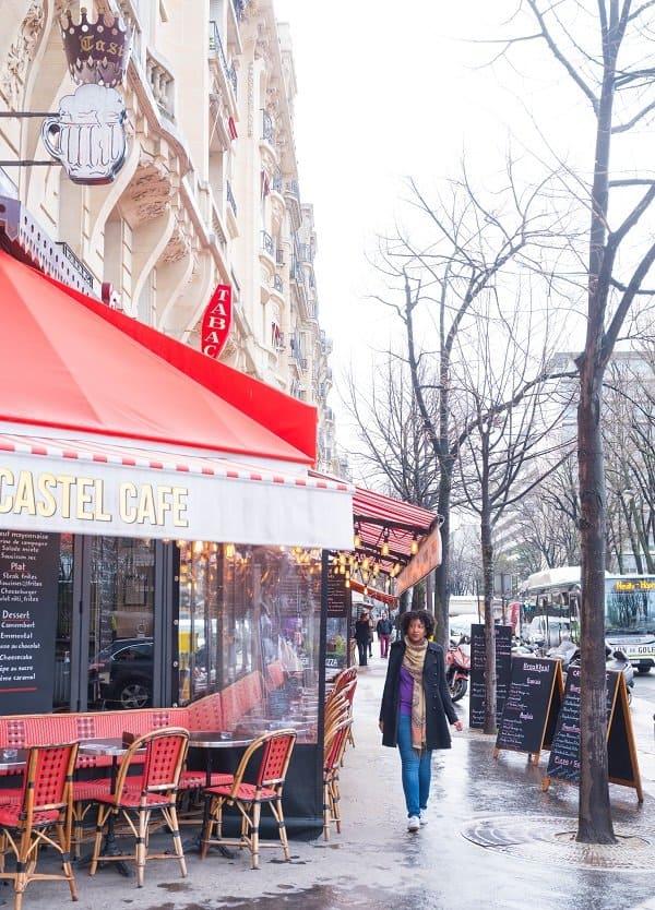Paris Photoshoot - Parisian Cafe