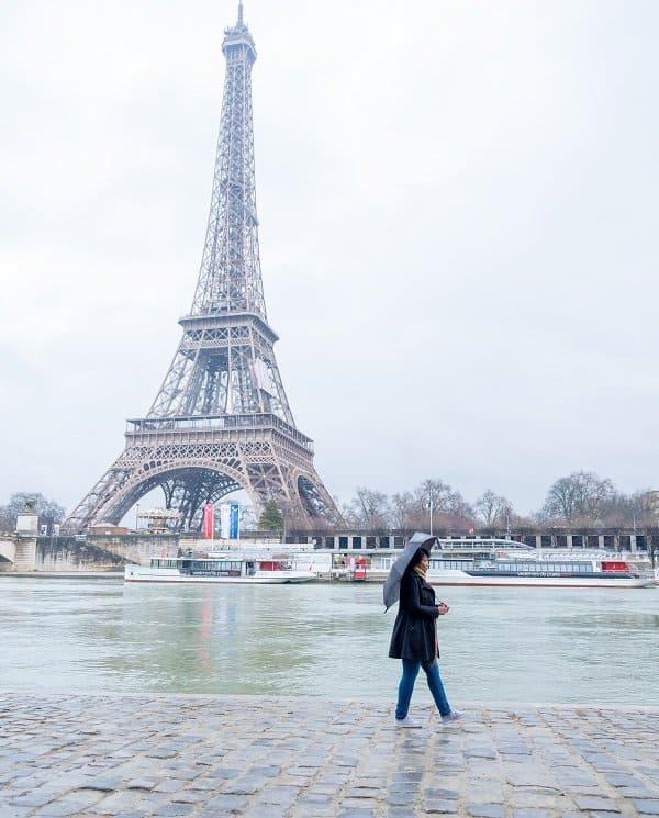 Paris Photoshoot - Walking by the Seine River