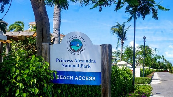 Beach access through Grace Bay club - turks and caicos on a budget