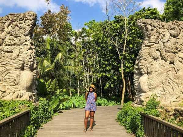 Entrance to the Ubud Monkey Forest