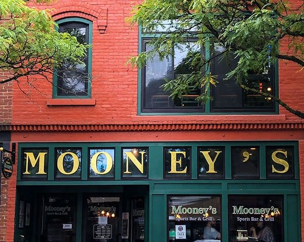places to eat in corning ny mooney's sports bar