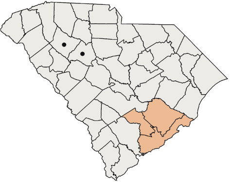 Counties we support in South Carolina