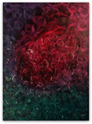 PAINTING ON CANVAS, ACRILIC, SIZE 50x70 CM (19,68x27,56 INCH), CATALOGUE NO. 47, STATUS: SOLD