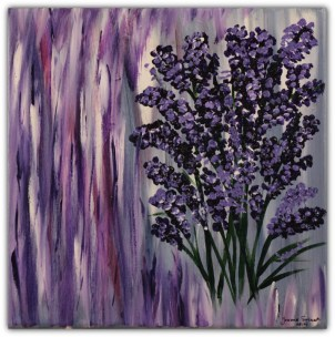 PAINTING ON CANVAS, ACRILIC, SIZE 30x30 CM (11,81x11,81 INCH), CATALOGUE NO. 12, STATUS: AVAILABLE
