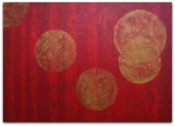 PAINTING ON CANVAS, ACRILIC, SIZE 50x70 CM (19,68x27,56 INCH), CATALOGUE NO. 55, STATUS: AVAILABLE
