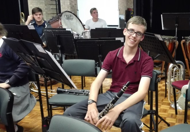 Nathan the clarinetist