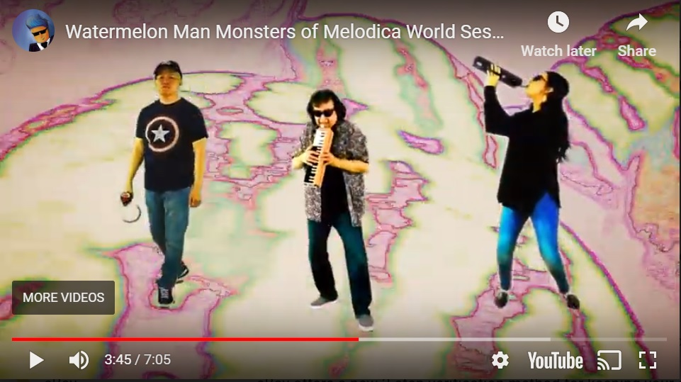 Monsters of Melodica World Session IV – Watermelon Man