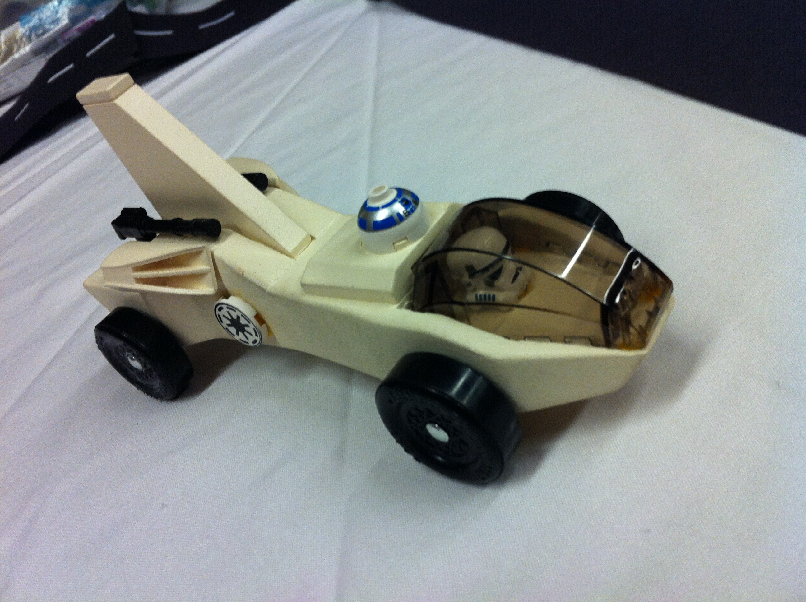 Derby Mustang Template Pinewood Car