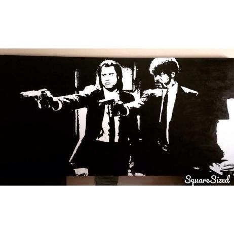 30 x 60 of Pulp Fiction