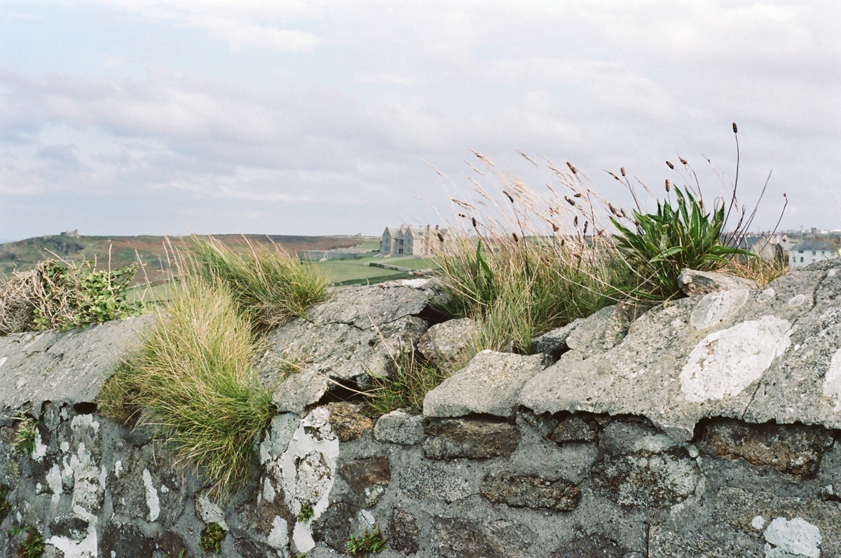 stone wall Cornwall