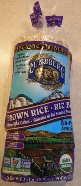Lundberg Brown Rice rice cakes - Copyright Jo-Ann Blondin