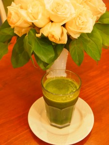 My morning Green Juice