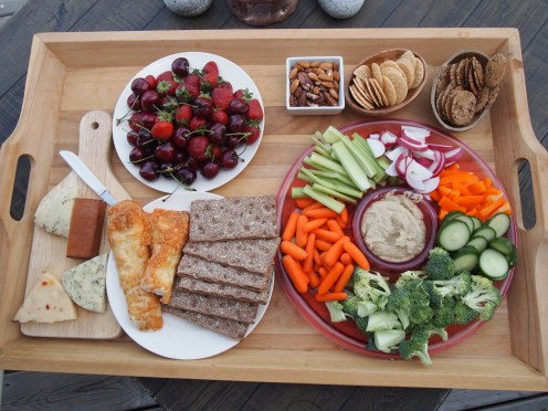 Sharing Gluten-Free, Dairy-Free meals with friends Copyright Jo-Ann Blondin 9CupChallenge