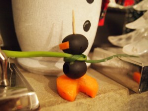 Olive Penguin - What a cute little guy.