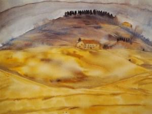 Fun wash 3 - A Tuscany Dream by Jo-Ann Blondin