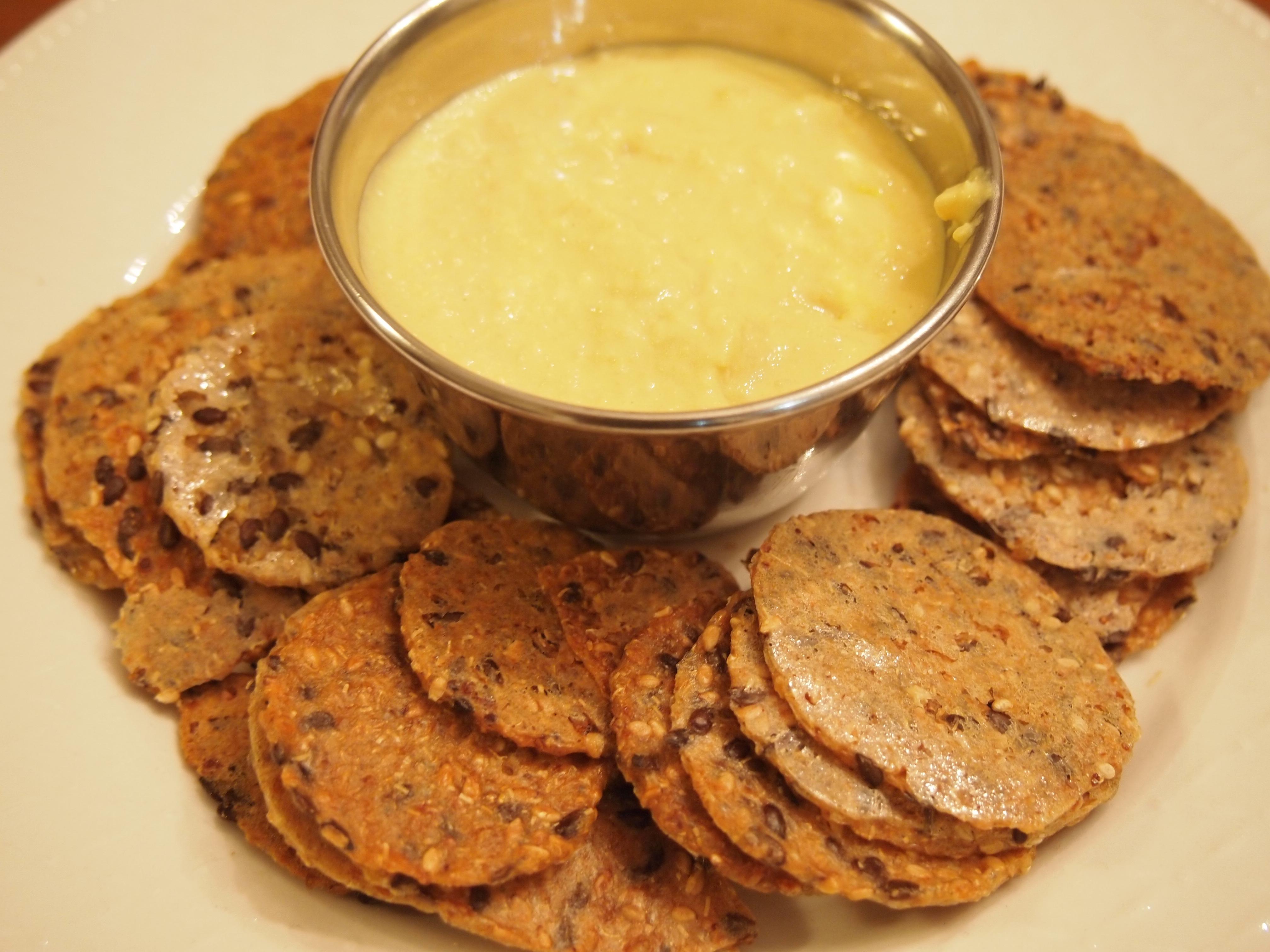 Toaster Sesame And Fresh Turmeric Hummus