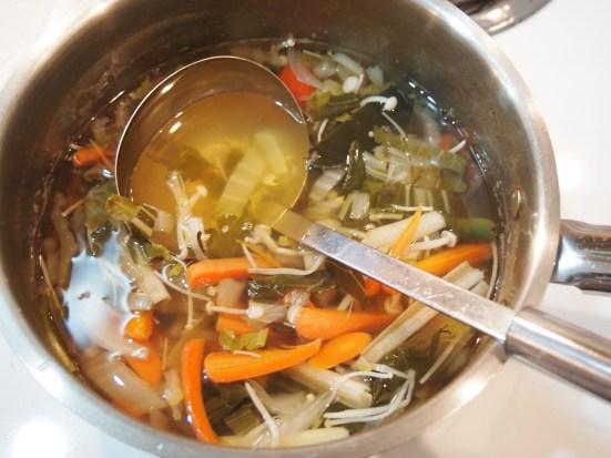 Fridge Surprise Thai Soup