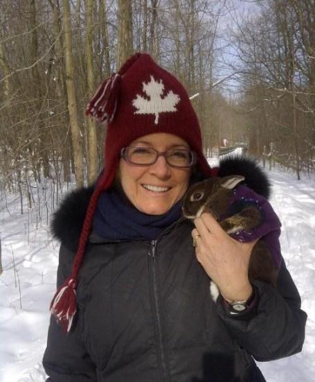 Jo-Ann and Emma The Rattray Rabbit