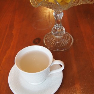 Ginger Tea in Tea Cup
