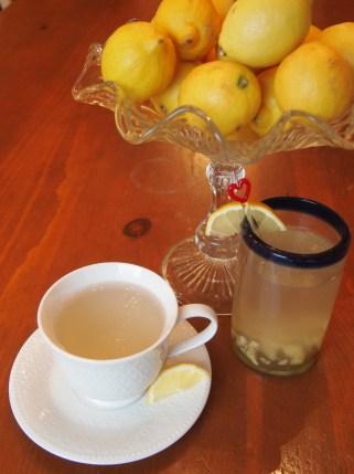 Ginger Tea Two Ways - image copyright Jo-Ann Blondin 9CupChallenge