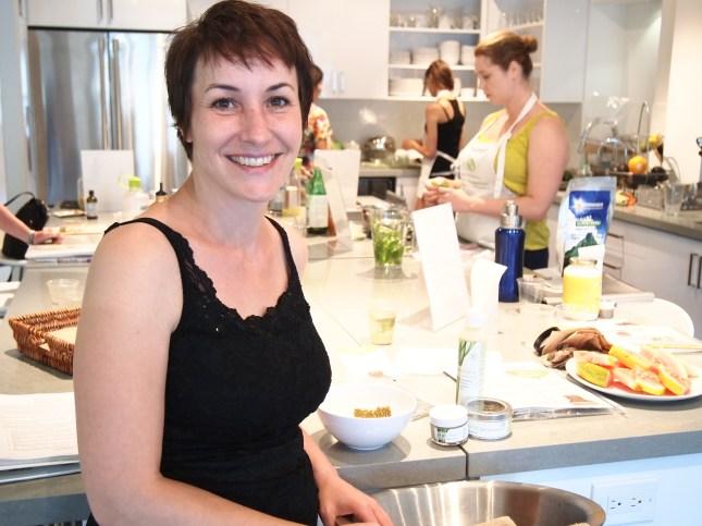 Lori from Alma Natural Quick Spa. Copyright Jo-Ann Blondin