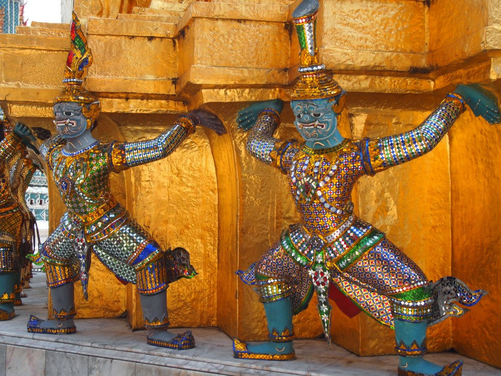 Grand Palace Bangkok Thailand - Image owned and copyright Jo-Ann Blondin