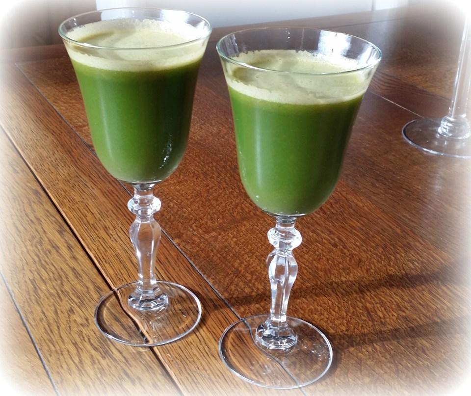 Green Juice Love Copyright Jo-Ann Blondin